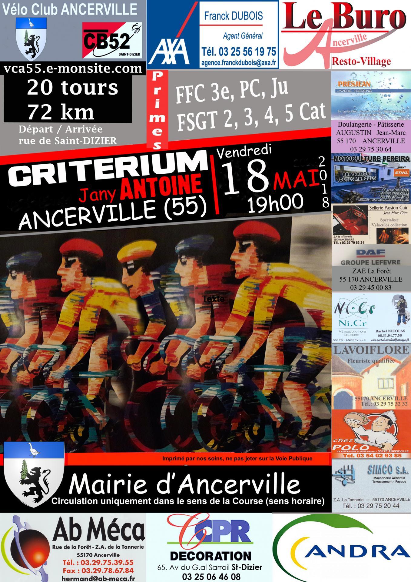 Ancerville 2018 test 1